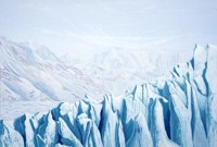Glacial Impressions -- artwork © Shelley Martin (click to see a larger version of the painting)